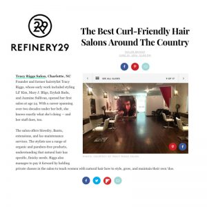 Tracy Riggs - The Best Curl-Friendly Hair Salons Around The Country