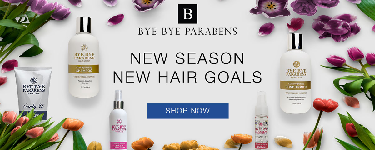 Natural Hair Products | Bye Bye Parabens